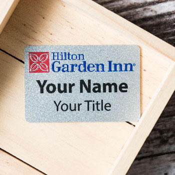 "Custom 2"" x 3"" Rectangle Name Badges"