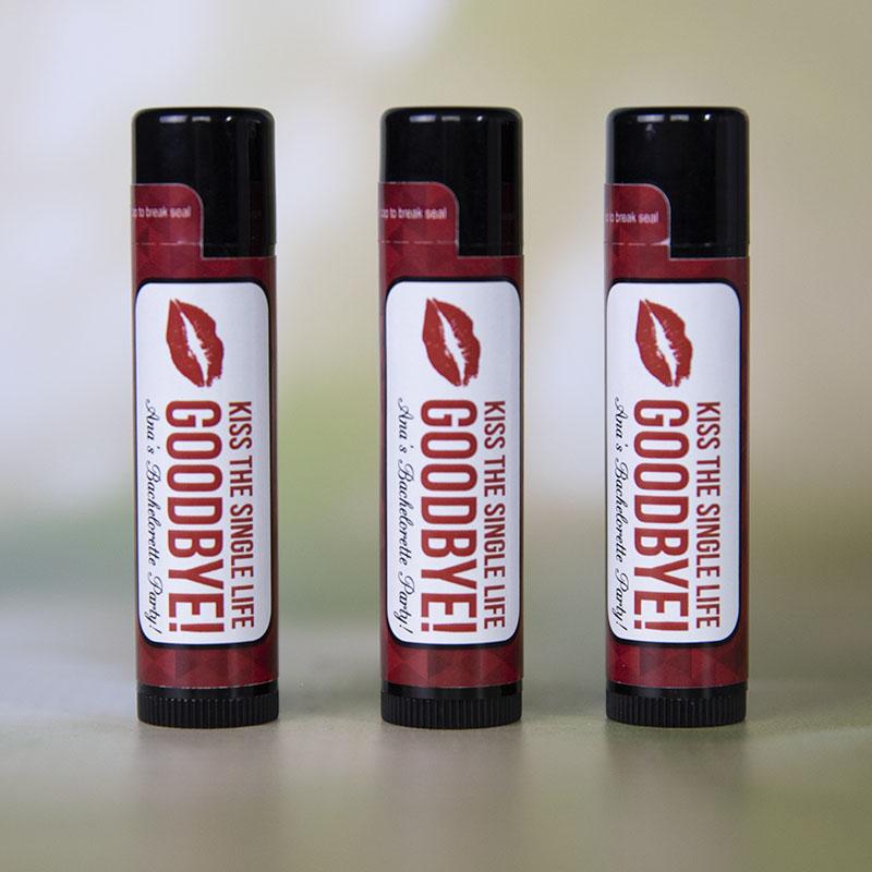 Natural Beeswax Lip Balm - Full Color