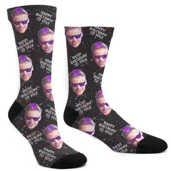 Custom Happy Birthday To You Socks