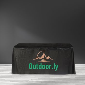 "Recyclable Plastic Table Cover - 65"" x 108"""