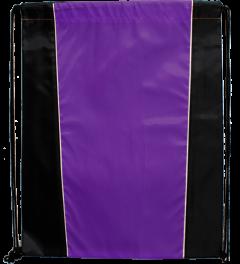 be7ff91909ff Two Tone Sided Drawstring Tote Bags   Drawstring Sportpacks ...