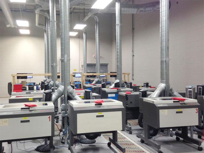 Laser Engraving Room
